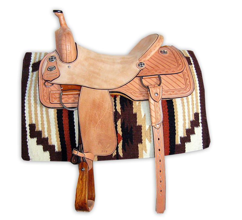 Western Cutting Saddle Version 2 – Dave Rogan Saddlery